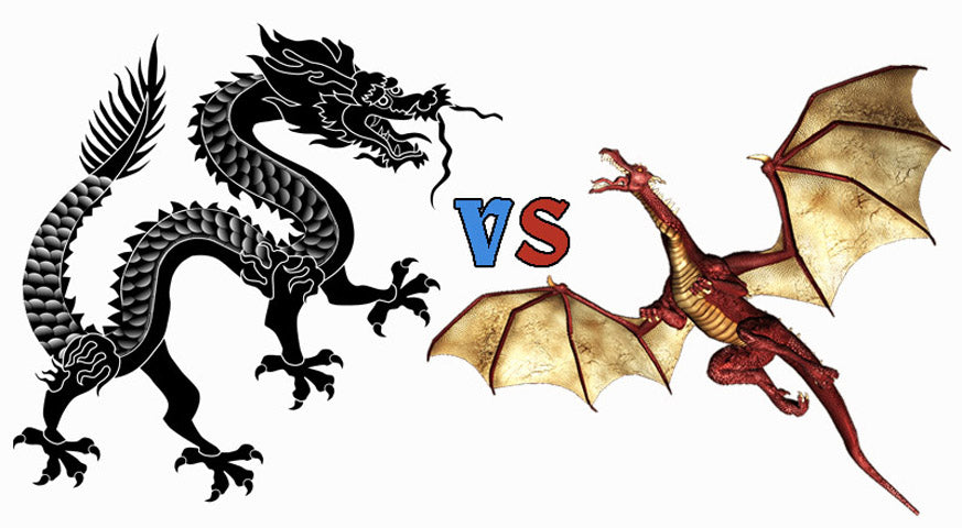 Dragon de Chine Vs Dragon d'Europe