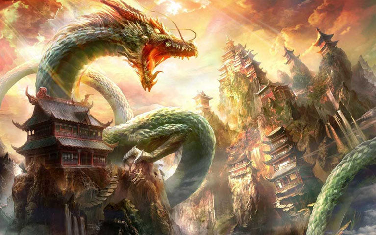 Image du dragon de Chine