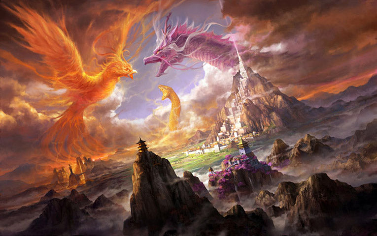 Phoenix et Dragon