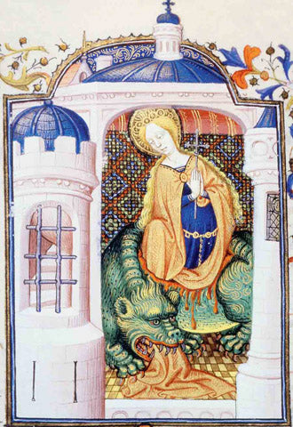 Sainte-Marthe et le Dragon Tarasque