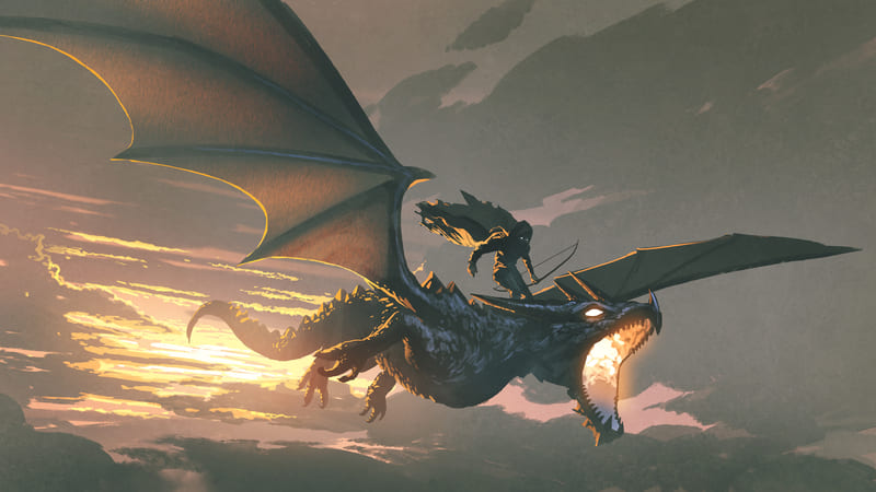 Chevaucher un dragon