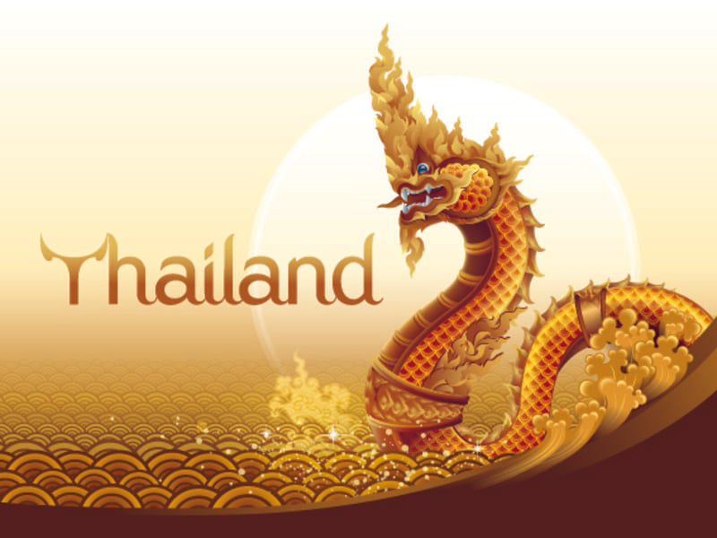 Dragon de Thailande