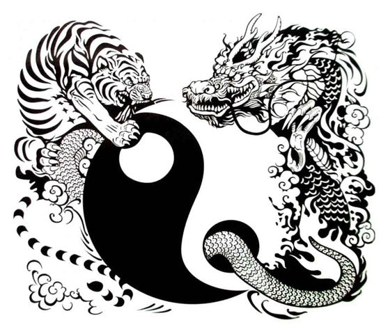 Tigre et Dragon