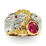 Bague Feng Shui Dragon