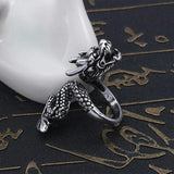 Bague en Forme de Dragon