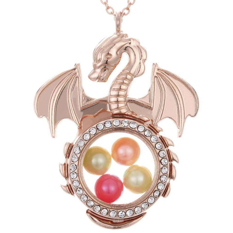 Collier Dragon Perle