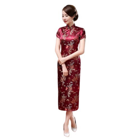 Robe Chinoise Longue Traditionnelle