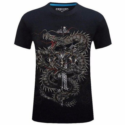 T-Shirt Double Dragon