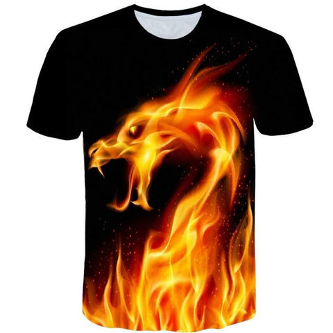 T-Shirt Dragon Design
