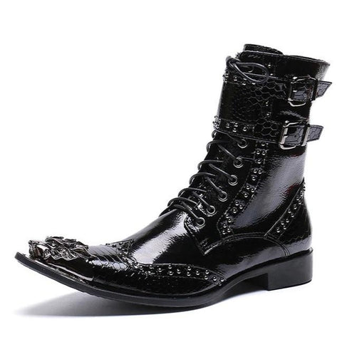 Botte Cuir Dragon