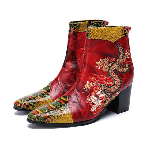 Botte Dragon Rouge