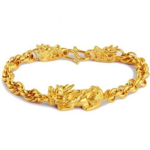 Bracelet Dragon Or