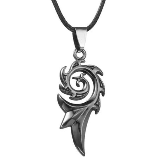 Collier Dragon Flamme