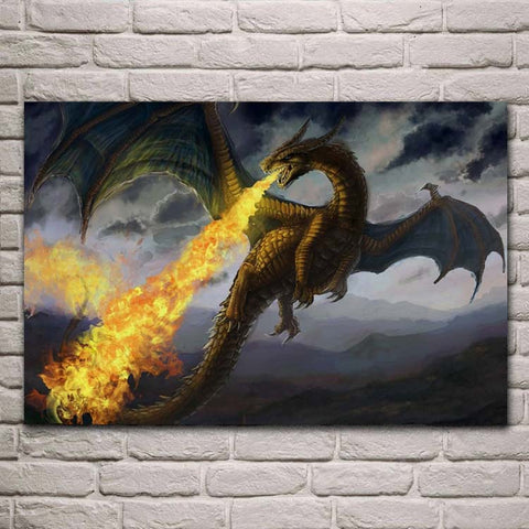 Poster Dragon Feu