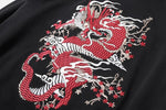 Pull Dragon Brodé