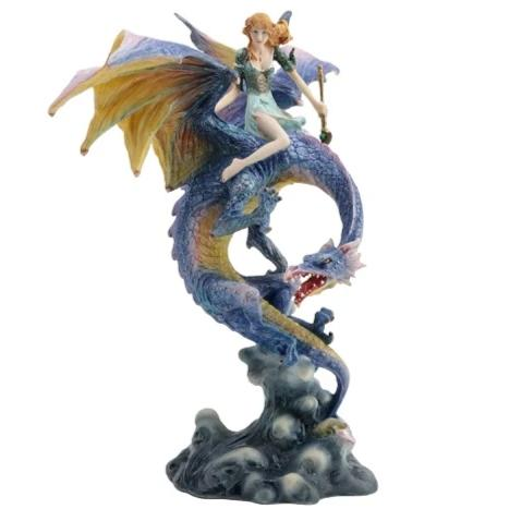 Statue Dragon Fée