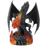 Statue Dragon Flamme