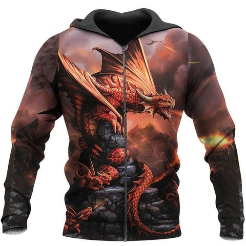 Sweat Dragon Cracheur de Flammes