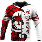 Sweat Dragon Rouge et Blanc