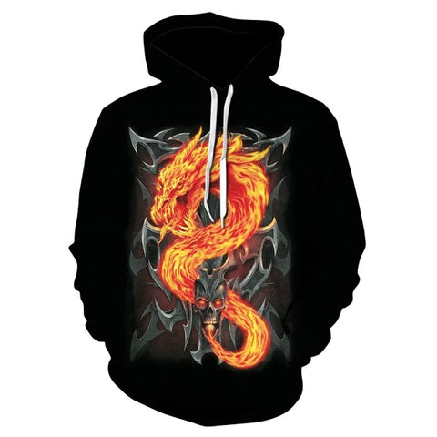 Sweat Shirt Dragon