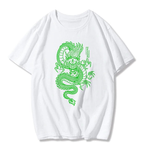 T-Shirt Avec Dragon