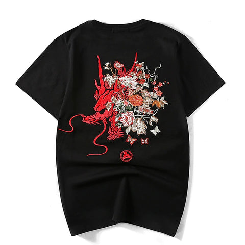 T-Shirt Dragon Brodé