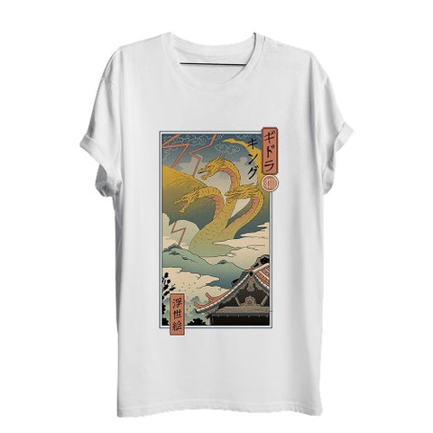 T-Shirt Japon Rétro