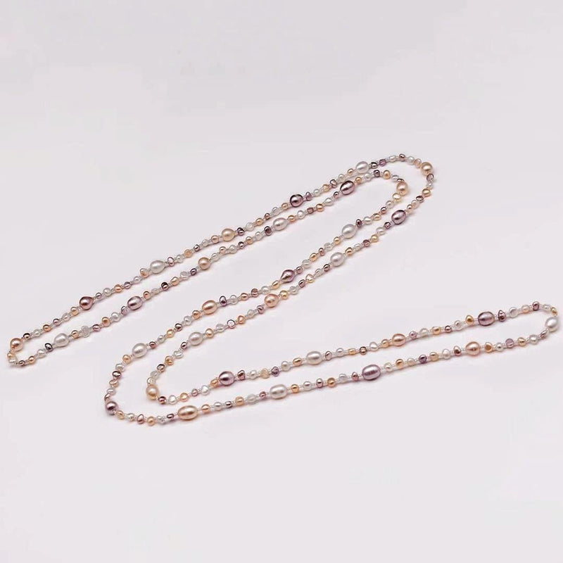 Baroque Pearl Long Necklace - Jora - Akuna Pearls