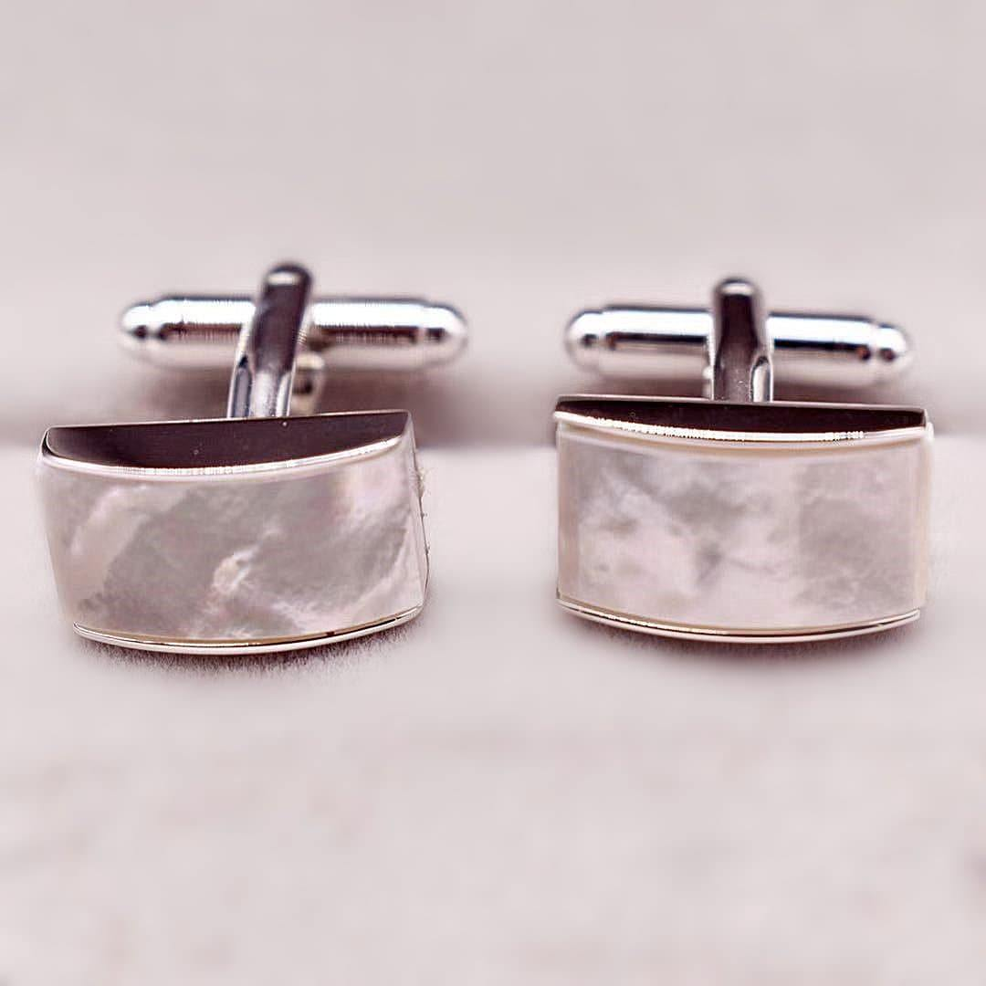 Mother of Pearls Cufflinks - Akuna Pearls