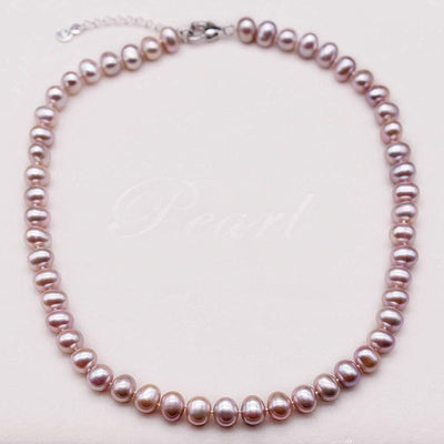 Classic Freshwater Pearl Necklace - Amoret | Akuna Pearls | Freshwater Pearl Jewellery | Made in Australia