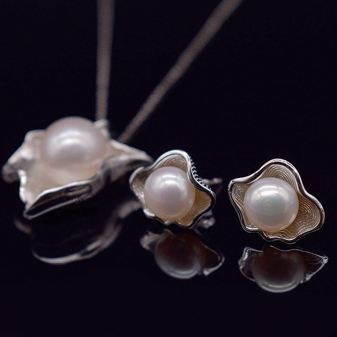 Freshwater Pearl Set - Dew | Akuna Pearls | Freshwater Pearl Jewellery | Made in Australia