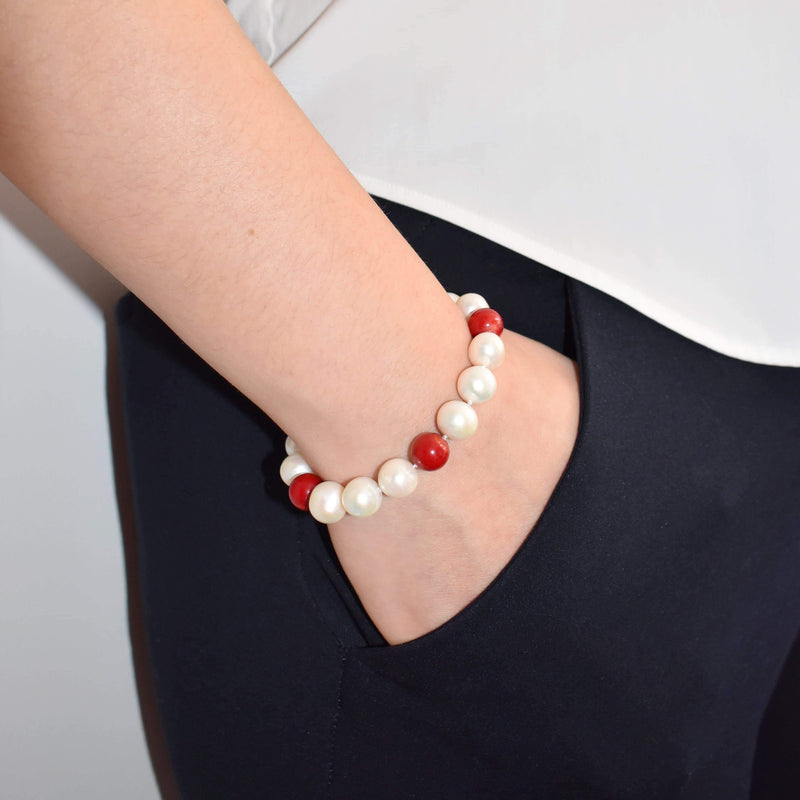 Classic Freshwater Pearl Bracelet - Rory | Akuna Pearls | Freshwater Pearl Jewellery | Made in Australia