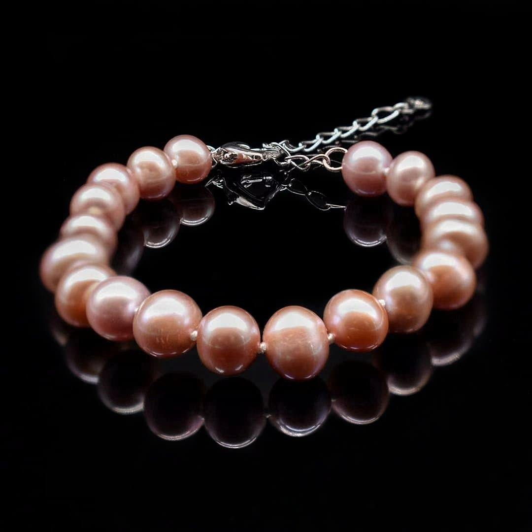 Copy of Classic Freshwater Pearl Bracelet - Amoret - Akuna Pearls