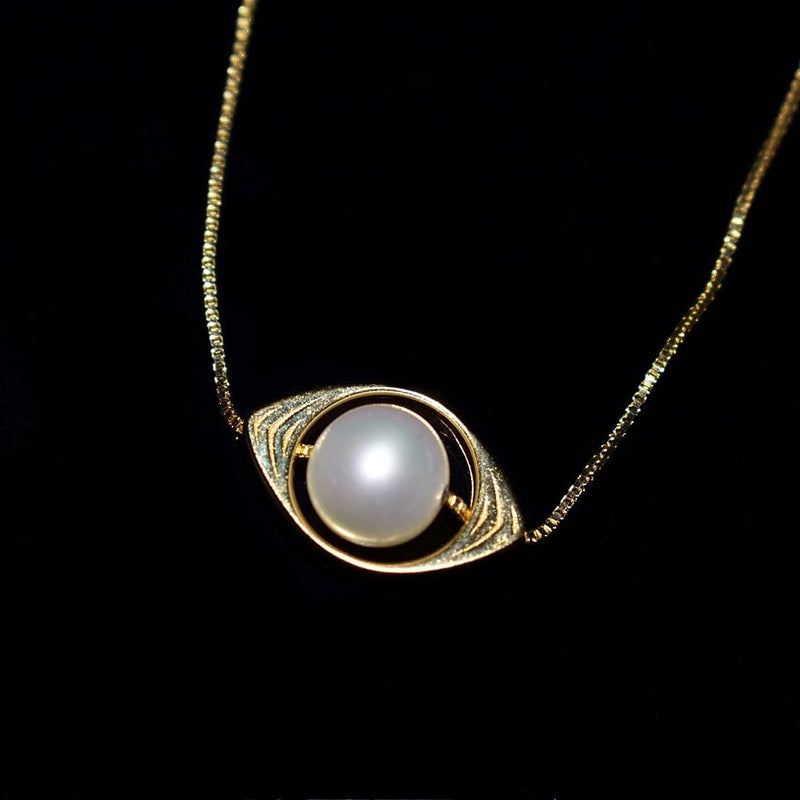 Freshwater Pearl Pendant Necklace - The Apple of My Eye | Akuna Pearls | Freshwater Pearl Jewellery | Made in Australia