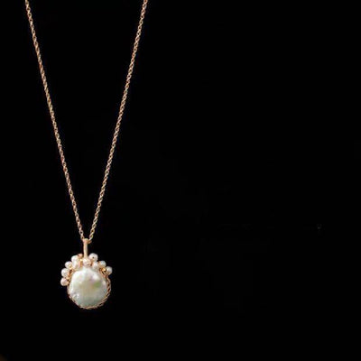 Baroque Pearl Long Necklace - Sharon | Akuna Pearls | Freshwater Pearl Jewellery | Made in Australia