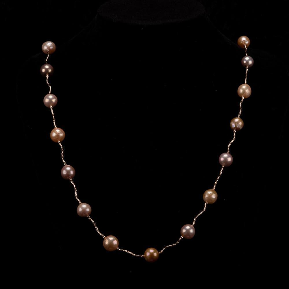 Baroque Pearl Long Necklace - Lavish | Akuna Pearls | Freshwater Pearl Jewellery | Made in Australia