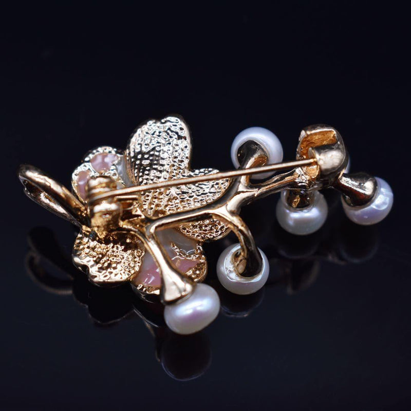 Freshwater Pearl Brooch - Cherry Blossom | Akuna Pearls | Freshwater Pearl Jewellery | Made in Australia