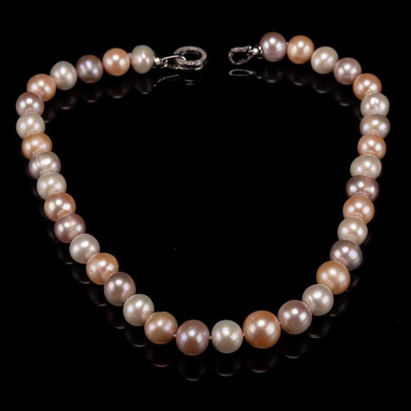 Classic Freshwater Pearl Necklace - Nebula | Akuna Pearls | Freshwater Pearl Jewellery | Made in Australia