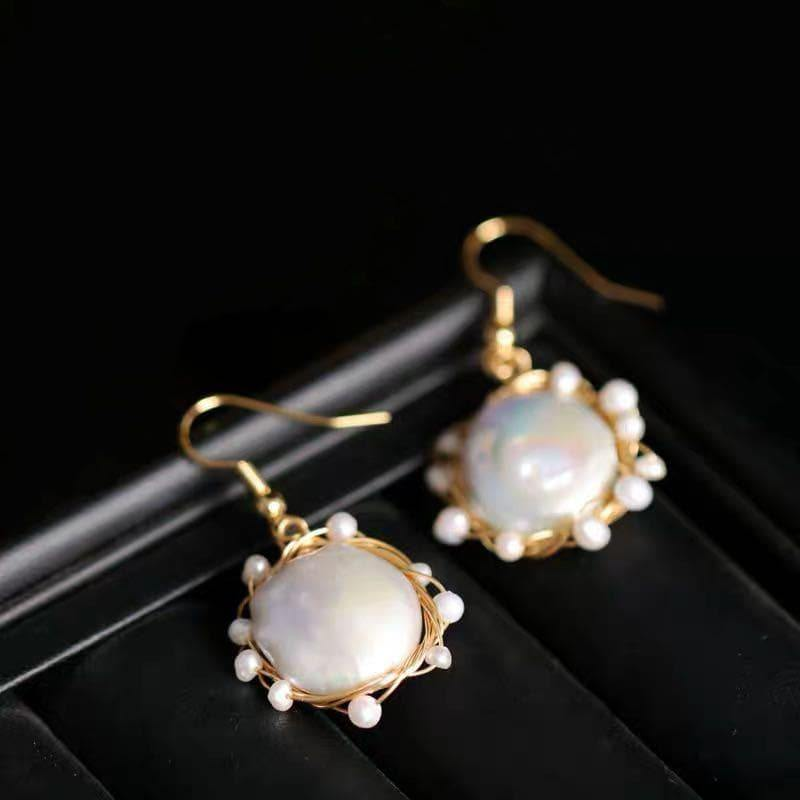 Freshwater Pearl Earrings - Danita | Akuna Pearls | Freshwater Pearl Jewellery | Made in Australia