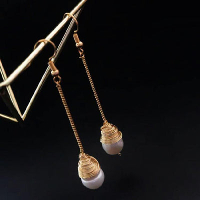 Freshwater Pearl Earrings - Nena - Akuna Pearls