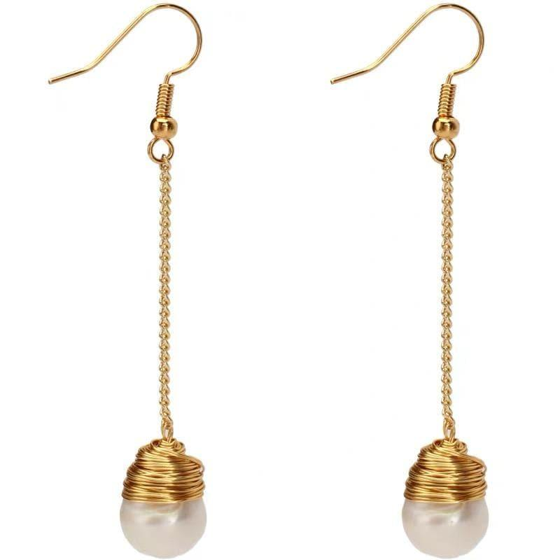Freshwater Pearl Earrings - Nena | Akuna Pearls | Freshwater Pearl Jewellery | Made in Australia