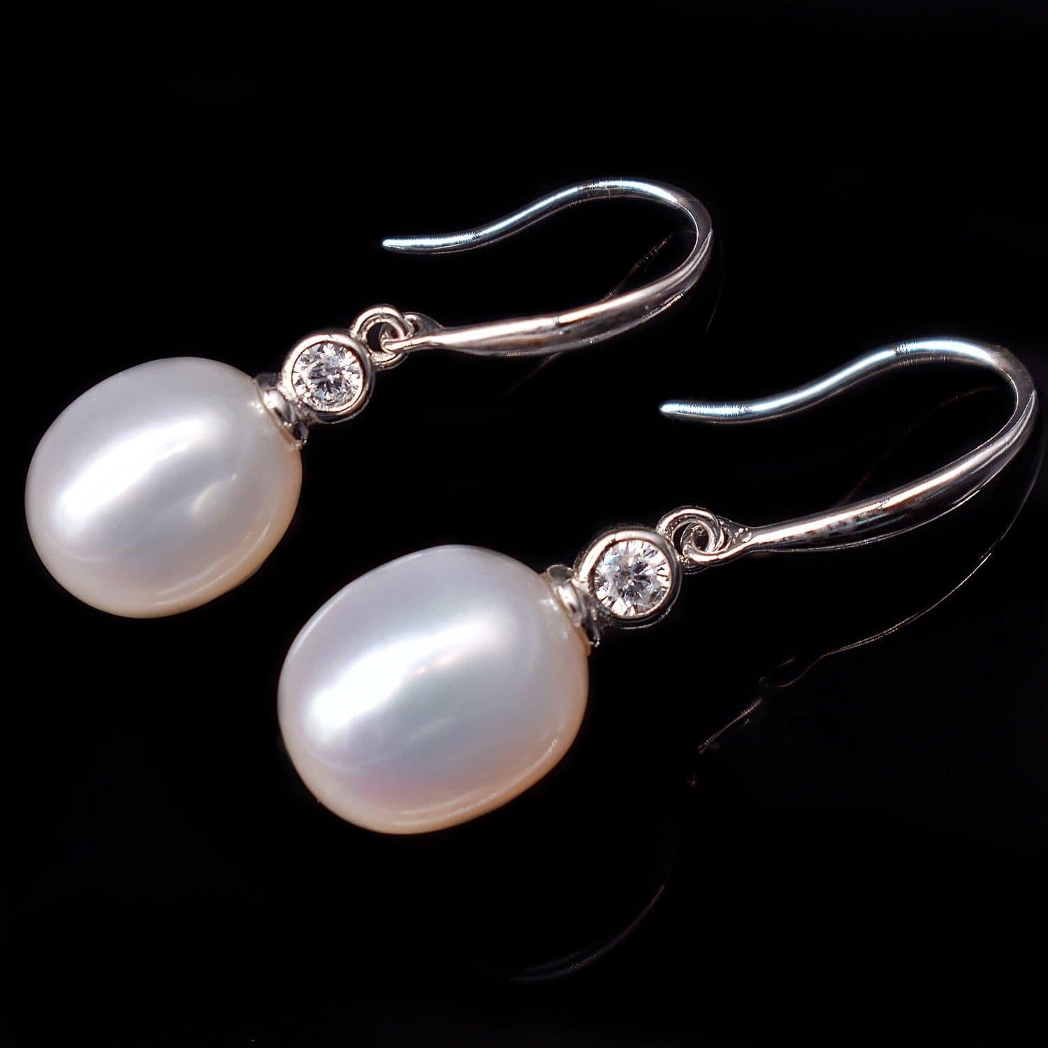 Freshwater Pearl Earrings - Tempest - Akuna Pearls