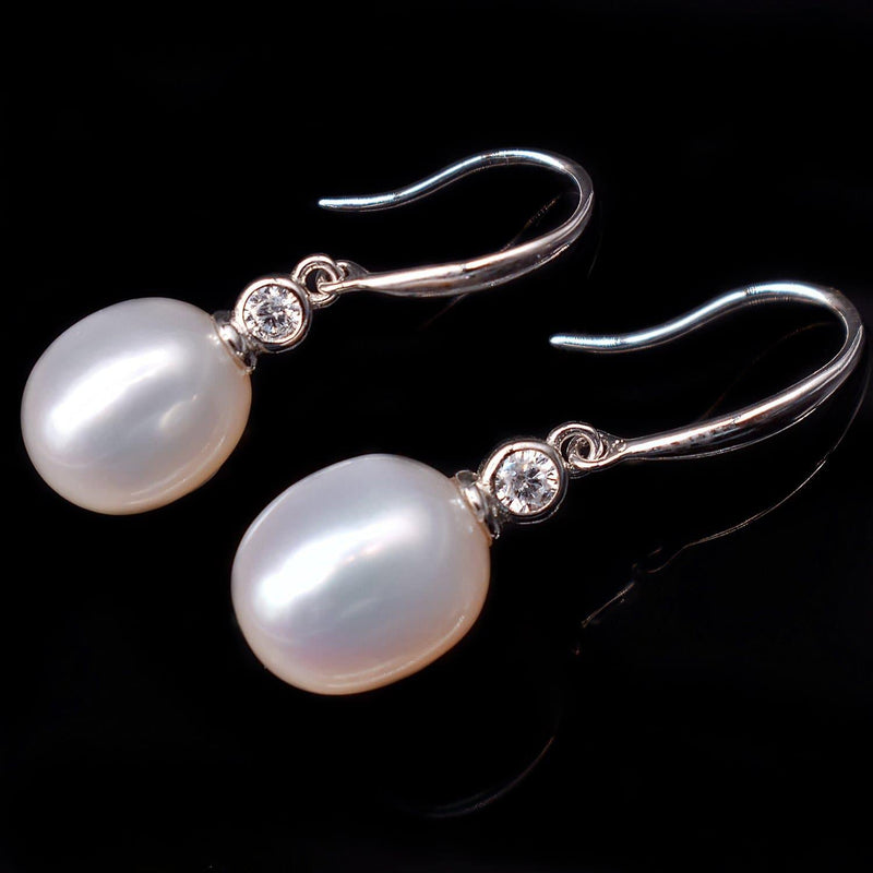 Freshwater Pearl Earrings - Tempest