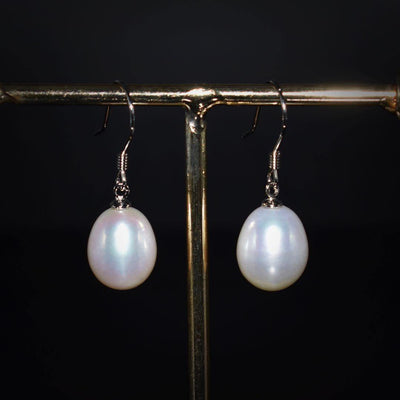 Freshwater Pearl Earrings - Ella | Akuna Pearls | Freshwater Pearl Jewellery | Made in Australia