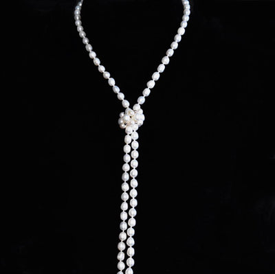 Freshwater Pearl Long Necklace - Ana | Akuna Pearls | Freshwater Pearl Jewellery | Made in Australia
