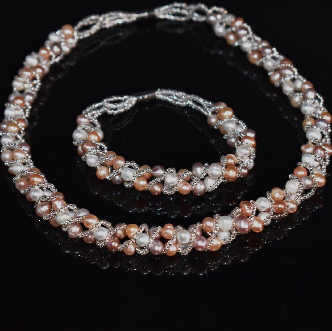 Freshwater Pearl Magnetic Set - Jose | Akuna Pearls | Freshwater Pearl Jewellery | Made in Australia