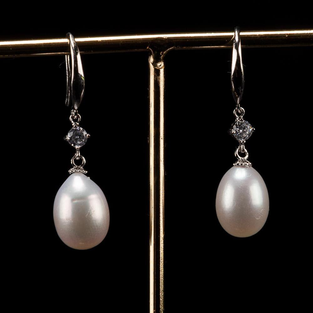 Freshwater Pearl Earrings - Grace White | Akuna Pearls | Freshwater Pearl Jewellery | Made in Australia