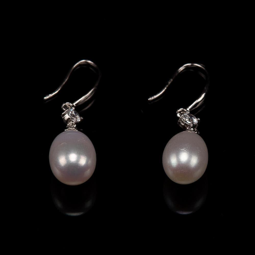 Freshwater Pearl Earrings - Grace - Akuna Pearls