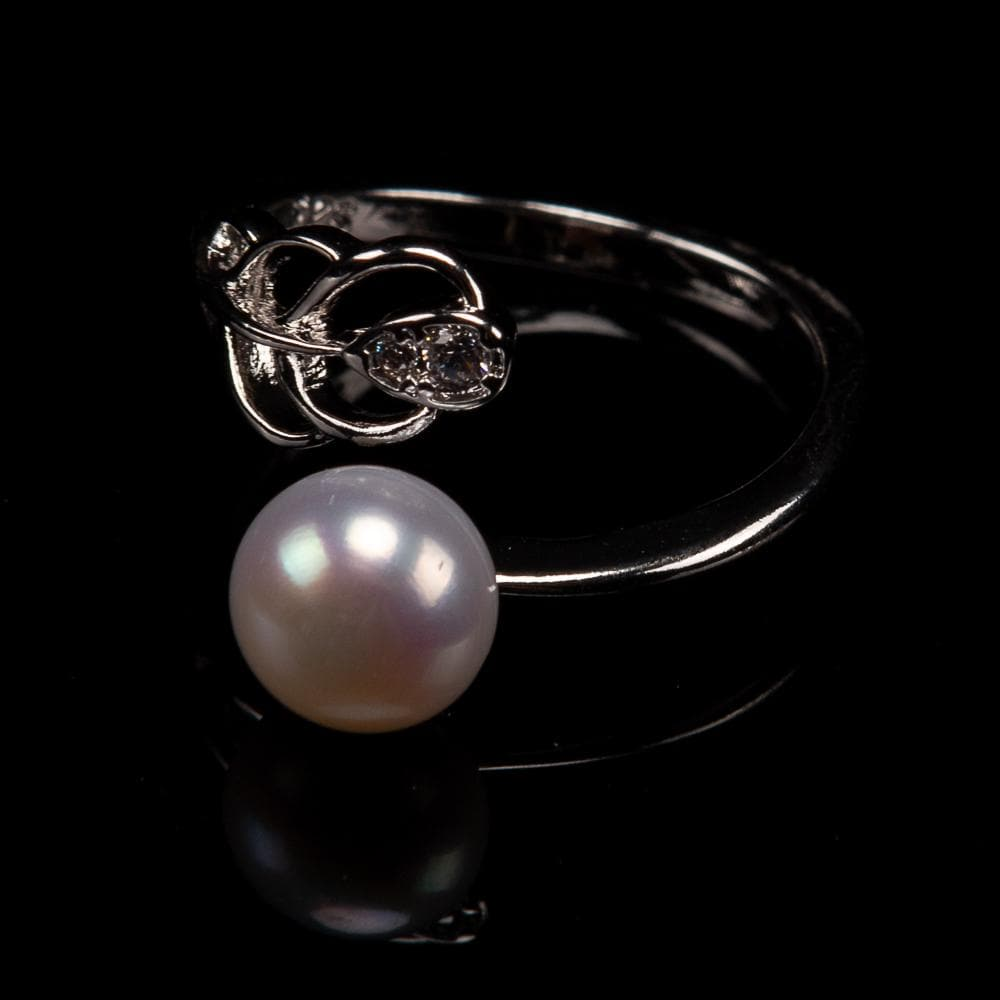 Freshwater Pearl Ring - Peacock Tail - Akuna Pearls
