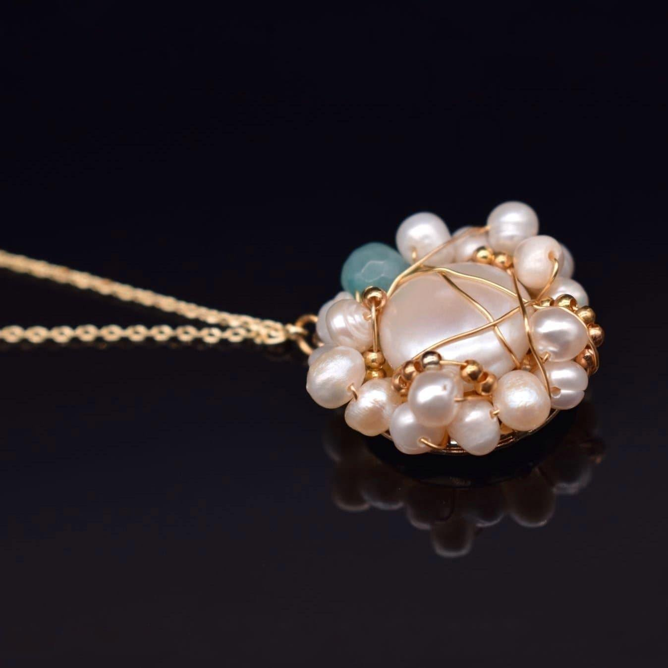 Baroque Pearl Necklace - Masie | Akuna Pearls | Freshwater Pearl Jewellery | Made in Australia
